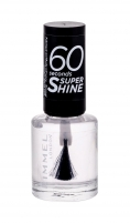 Rimmel London 60 Seconds Super Shine Nail Polish Cosmetic 8ml 740 Clear Dekoratyvinė kosmetika nagams