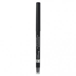 Rimmel London Exaggerate Waterproof Eye Definer 0,28g Noir Akių pieštukai ir kontūrai