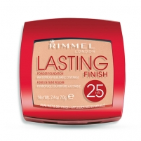 Rimmel London Lasting Finish 25h Powder Foundation Cosmetic 7g 001 Light Porcelain Pudra veidui