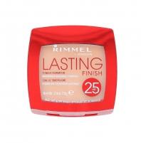 Rimmel London Lasting Finish 25h Powder Foundation Cosmetic 7g 004 Light Honey Pudra veidui