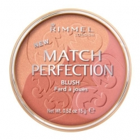 Rimmel London Match Perfection Blush Cosmetic 15g 001 Light Skaistalai veidui