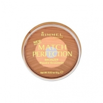 Rimmel London Match Perfection Bronzer Cosmetic 15g Medium Dark Pudra veidui