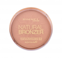 Rimmel London Natural Bronzer Waterproof Bronzing Powder SPF15 14g Nr.022 Pudra veidui