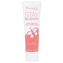 Rimmel London Stay Blushed Liquid Cheek Tint Cosmetic 14ml 004 Sunkissed Cherry Skaistalai veidui