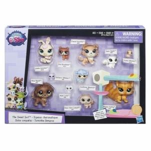 Rinkinys B9754 Littlest Pet Shop Lps Pet Pack Cuddliest Žaislai mergaitėms