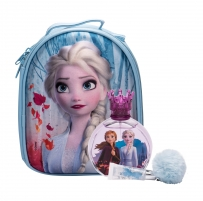 Rinkinys Disney Frozen Edt 100 ml + Lip Balm 6 ml + Backpack Elsa 100ml Smaržas bērniem