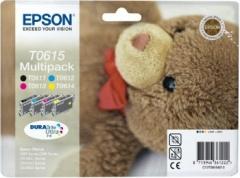 Rinkinys Epson T0615 CMYK MultiPack DURABrite | Stylus D68 Photo Edition/88/88 .