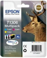 Rinkinys Epson T1306 MultiPack | Stylus SX525WD/BX305F/BX320FW/BX625FWD