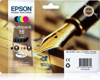 Rinkinys Epson T1626 CMYK Multi Pack | WF-2010/25x0