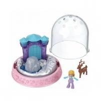 Rinkinys GNG68 / GNG66 Polly-Pocket Mattel Mini Snow Globe Winter Christmas