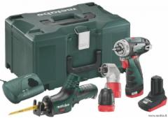 METABO 10,8V COMBO RINKINYS POWERMAXX QUICK BASIC + POWERMAXX ASE