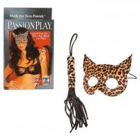 Rinkinys Moteris katė Kaukės ir burnos raiščiai