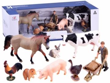 Rinkinys Painted farm animals set Farmer ZA2994