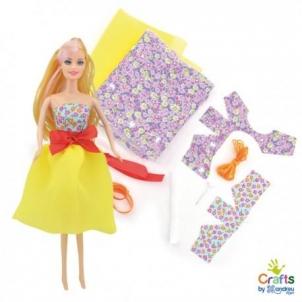 Rinkinys pasiūti lėlės suknelei