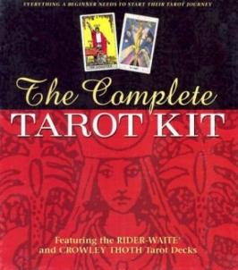 Rinkinys The Complete Tarot Kit Žaidimai, kortos