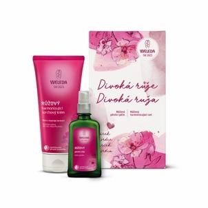 Rinkinys Weleda Divoka Ruze dušo žele 200 ml + aliejus 50 ml Kosmetikos rinkiniai