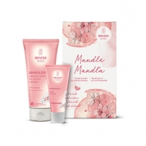 Rinkinys Weleda Mandle dušo žele 200 ml + rankų kremas 50 ml Kosmetikos rinkiniai