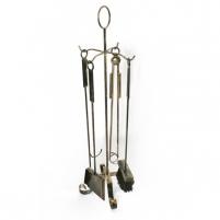 Rinkinys židiniui 70-766 73*24cm Židinio įrankiai