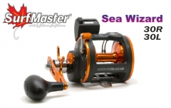 Ritė Multiplikatorius SURF MASTER Sea Wizard 30R, Dešinė Multiplier reels