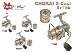 RITĖ SURF MASTER CHOKAI SERIES X-CAST Other reel