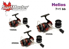 Ritė Surf Master Helios HE 2500A 7+1bb Other reel