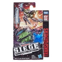 Robotas E3555/E3431 Transformers Toy Generations War for Cybertron: Siege Battle Masters Robots toys