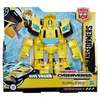 Robotas Hasbro Transformers E1886 / E1907 Трансформер КИБЕРВСЕЛЕННАЯ 19 см Бамблби Robotai žaislai
