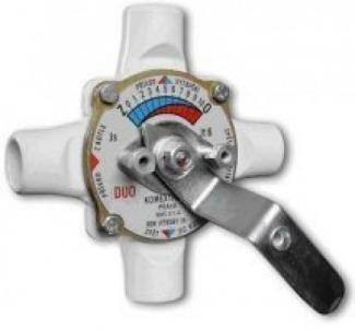Rotacinis vožtuvas MIXAP/50, virinamas, ketureigis, DN50