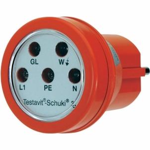 Rozecių testeris Testboy Testavit Schuki® 3 Earth contact plug Bandymų įranga