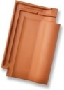 Rubin 13V, clay roof tile, red Ceramic tiles