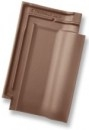 Rubin 13V, clay roof tile, brown engobed Ceramic tiles
