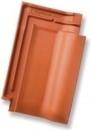 RUBIN 13V Čerpė keraminė, vario raudonumo angobuota Keramikinės čerpės