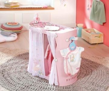 Rūbinė/ stalas lėlei 794111 Baby Annabell 2-in-1 Baby Unit Wardrobe/Changing Table