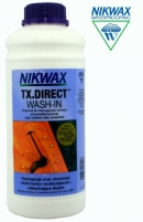 Rūbų plovimo skysta preimonė impregnuojanti Nikwax NI-03 TX Direct Wash-in 1000 ml Shoes