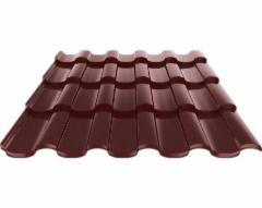 Ruukki Adamante 50 Plus Matt tile effect steel roof