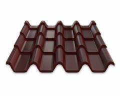 Ruukki tile effect steel roof Armorium