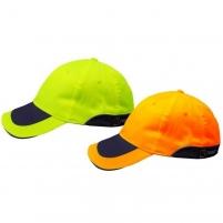 Ryški signalinė kepurė su snapeliu Darbu cepures