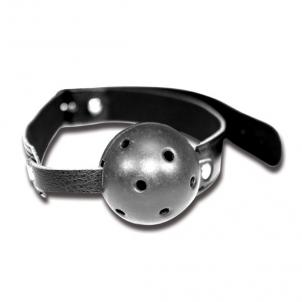 S&M - BREATHABLE BALL GAG Kaukės ir burnos raiščiai