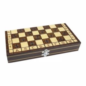 Šachmatai MIKRUS 27 x 27 cm Kiti žaidimai