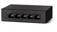 Šakotuvas Cisco SF110D-05 5-Port 10/100 Desktop Switch