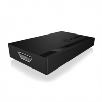 Šakotuvas Icy Box AC514, USB 3.0 (Micro B female) to HDMI Adapter 3840 x 2160@ 30Hz