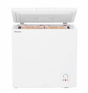 freezer HISENSE Chest Freezer 145L White A+