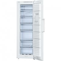 Refrigerator Bosch Freezer GSV33VW31 Upright, Height 176 cm, Total net capacity 220 L, A++, Freezer number of shelves/baskets 7, White, Free standing,