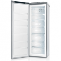 Šaldytuvas Candy Freezer CFUN 6172 XE Upright, Height 176 cm, Total net capacity 226 L, A+, Freezer number of shelves/baskets 7, Inox, No Frost system, Free standing