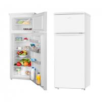 Šaldytuvas ETA Refrigerator ETA236590000 Free standing, Double door, Height 143 cm, A++, Fridge net capacity 171 L, Freezer net capacity 41 L, 42 dB, White