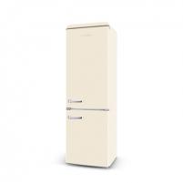 Šaldytuvas ETA Storio retro refrigerator ETA237790040 Free standing, Combi, Height 192 cm, A++, Fridge net capacity 216 L, Freezer net capacity 84 L, 42 dB, Beige