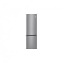 Šaldytuvas LG Refrigerator GBB61PZJZN Free standing, Combi, Height 186 cm, A++, No Frost system, Fridge net capacity 232 L, Freezer net capacity 107 L, Display, 36 dB, Platinum silver3