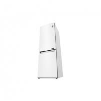 Šaldytuvas LG Refrigerator GBB61SWJZN Free standing, Combi, Height 186 cm, A++, No Frost system, Fridge net capacity 232 L, Freezer net capacity 107 L, Display, 36 dB, Super white Šaldytuvai ir šaldikliai