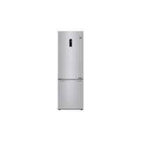 Šaldytuvas LG Refrigerator GBB71NSDFN Free standing, Combi, Height 186 cm, A+++, No Frost system, Fridge net capacity 232 L, Freezer net capacity 107 L, Display, 36 dB, Noble steel Šaldytuvai ir šaldikliai