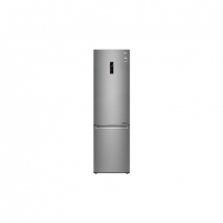Refrigerator LG Refrigerator GBB72SADFN Free standing, Combi, Height 203 cm, A+++, No Frost system, Fridge net capacity 277 L, Freezer net capacity 107 L, Display, 36 dB, Stainless steel Refrigerators and freezers